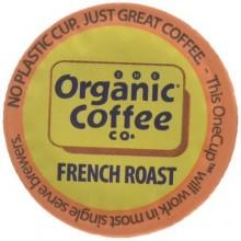 Organic Coffee Co. Onecup, French Roast (6X4.65 OZ)