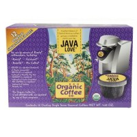Organic Coffee Co.  Onecup, Java Love (6X4.65 OZ)