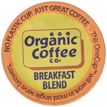 Organic Coffee Co. Onecup, Breakfast Blend (6X4.65 OZ)