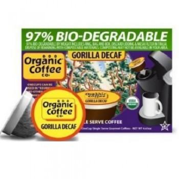 Organic Coffee Co. Gorilla Decaf (6X4.65 OZ)