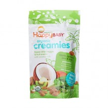 Happy Baby Organic Creamies Apple, Spinach, Pea & Kiwi (8x1 OZ)