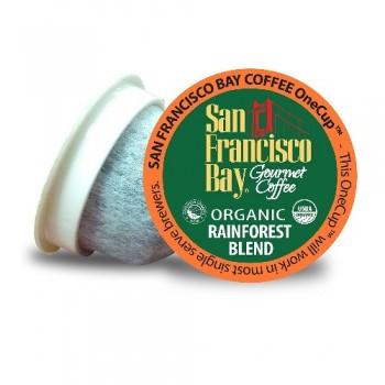 San Francisco Bay Coffee One Cup Organic Rainforest Blend (6X4.65 OZ)