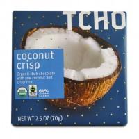 Tcho Chocolate Coconut Crisp (12x2.5 OZ)