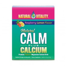Natural Vitality Calm Plus Calcium Raspberry Lemon (8x5 Ct)
