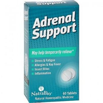 NatraBio Adrenal Support (1x60 TAB )