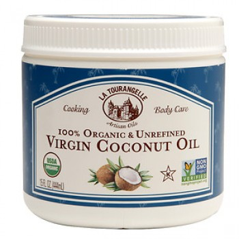 La Tourangelle Unrefined Coconut Oil (6x15 OZ)