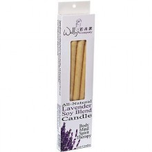 Wally's Natural Soy Blend Lavender Ear Candles (1x4 EACH)