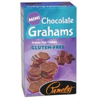 Pamela'S Products Grahams,Chocolate,Mini Gf (6X7 OZ)