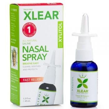 Xlear Sinus Nasal Spray with Xylitol (12x1.5 OZ)