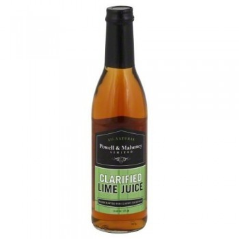 Powell & Mahoney Limited Juice Lime (6X12.68 OZ)