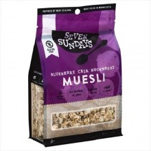 Seven Sundays Muesli - Blueberry Chia Buckwheat (6X12 OZ)