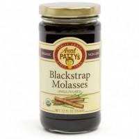 Aunt Patty's Unsulphured Sweet Barbados Molasses (6x12 OZ)