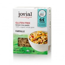 Jovial Gluten Free Brown Rice Pasta Farfalle (12x12 OZ)