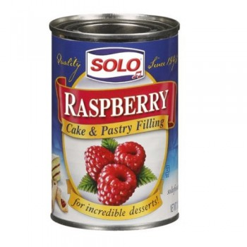 Solo Cake & Pastry Filling Raspberry (12x12 OZ)
