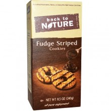 Back To Nature Cookies Fudge Striped (6x8.5 OZ)