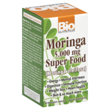Bio Nutrition Moringa 5 000 Mg Super Food - 60 Vegetable Capsules