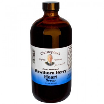Dr. Christophers Hawthorn Berry Heart Syrup - 16 fl oz