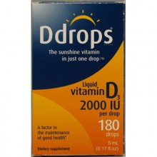 D Drops Liquid Vitamin D3 - 2000 IU - 0.17 fl oz