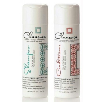 Chaacoca Argan Oil Daily Moisturizing Shampoo and Conditioner