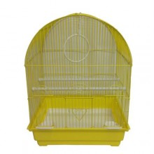 Iconic Pet Dome Top Bird Cage - Medium - Yellow