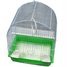 Iconic Pet Dome Top Bird Cage - Small - Green