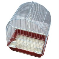Iconic Pet Dome Top Bird Cage - Small - Red