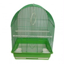 Iconic Pet Dome Top Bird Cage - Medium - Green