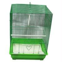 Iconic Pet - Flat Top Bird Cage - Medium - Green
