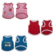 3 Pack Pretty Pet Tank Top - X-Small