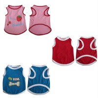 3 Pack Pretty Pet Tank Top - Medium