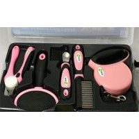 Iconic Pet Pet Grooming Set (5pcs) - Pink