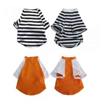 2 Pack Pretty Pet Apparel with Sleeves - X-Small