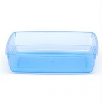 Iconic Pet Cat Litter Box - Blue