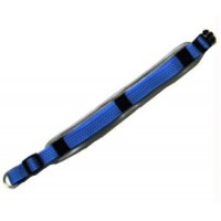Iconic Pet Reflective Adjustable Collar - Blue - Medium
