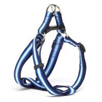 Iconic Pet - Rainbow Adjustable Harness - Blue - Medium