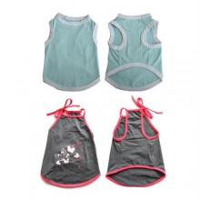 2 Pack Pretty Pet Apparel without Sleeves - Medium