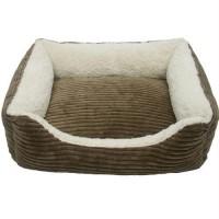 Iconic Pet - Luxury Lounge Pet Bed - Dark Moss - Small