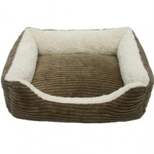 Iconic Pet - Luxury Lounge Pet Bed - Dark Moss - Small