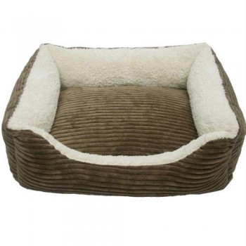 Iconic Pet - Luxury Lounge Pet Bed - Dark Moss - Large