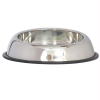 Iconic Pet - Heavy Weight Non-Skid Easy Feed High Back Pet Bowl for Dog or Cat - 96oz - 12 cup