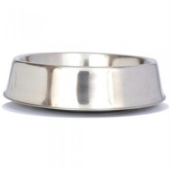 Iconic Pet Anti Ant Stainless Steel Non Skid Pet Bowl for Dog or Cat - 16oz - 2 cup