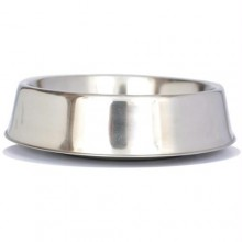 Iconic Pet Anti Ant Stainless Steel Non Skid Pet Bowl for Dog or Cat - 32oz - 4 cup