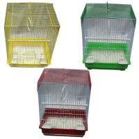 Iconic Pet - Flat Top Bird Cage (Set of 6) - Small