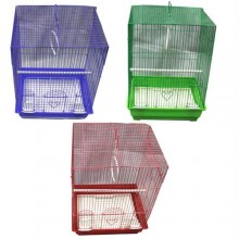 Iconic Pet - Flat Top Bird Cage (Set of 6) - Medium