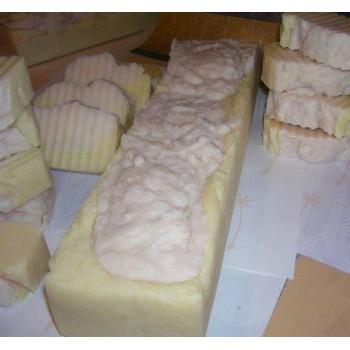 Handmade Coconut 4lb Soap Loaf