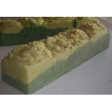 Handmade 4 lb Soap Loaf Honey Dew Melon