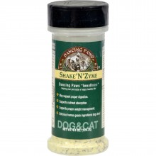 Dancing Paws ShakeNZyme For Cats and Dogs - 4.4 oz