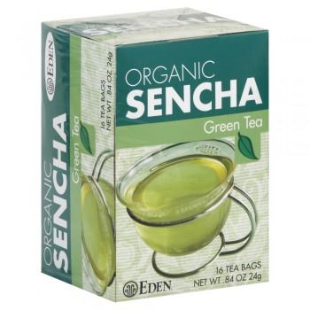 Eden Foods Organic Sencha Green Tea Original - 16 Tea Bags