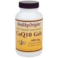 Healthy Origins Coq10 Gels 400 mg 60 Softgels