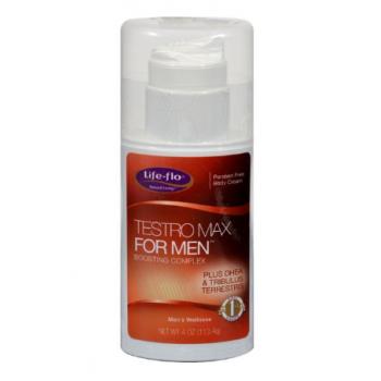 Life-Flo Testro Max Original Men Body Cream - 4 fl oz